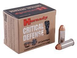 Hornady Critical Defense Ammunition 44 Special 165 Grain Flex Tip eXpanding Box of 20