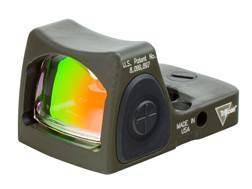 Trijicon RMR Reflex Red Dot Sight Adjustable LED 3.25 MOA Red Dot Cerakote Olive Drab Green