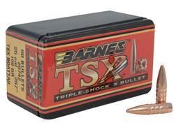 Barnes Triple-Shock X Bullets 25 Caliber (257 Diameter) 100 Grain Hollow Point Boat Tail Lead-Free Box of 50