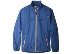 Mountain Khakis Men's Granite Creek Windbreaker Jacket Nylon Ripstop Clear Blue XL 46-48