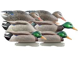 GHG Pro-Grade Pre-Texas Rigged Mallard Duck Decoy Pack of 6