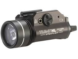 Streamlight TLR-1 HL Weaponlight LED with 2 CR123A Batteries Fits Picatinny or Glock-Style Rails Aluminum Matte