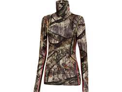 Under Armour Women's ColdGear Infrared Scent Control EVO Cozy-Neck Shirt Long Sleeve Polyester