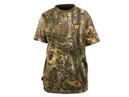 ScentBlocker Men's Performance Cotton T-Shirt Short Sleeve Cotton & Polyester Blend Realtree Xtra XXL50-52