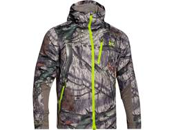 Under Armour Men's ColdGear Infrared Scent Control Barrier Jacket Polyester Mossy Oak Treestand L...
