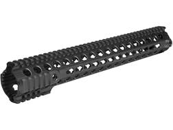 "Troy Industries 15"" SDMR Battle Rail Free Float KeyMod Handguard AR-15 Black"