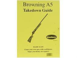 """Radocy Takedown Guide """"Browning A5"""""""