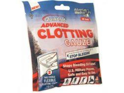 Quikclot Advanced Clotting Gauze