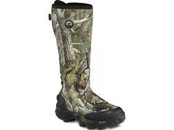"Irish Setter Rutmaster 17"" Waterproof 800 Gram Insulated Hunting Boots Rubber Clad Neoprene Realtree AP Camo Men's 8 E"