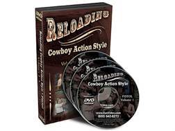"Gun Video ""Reloading Cowboy Action Style Volume 1: Pistol"" 3 DVD Set"