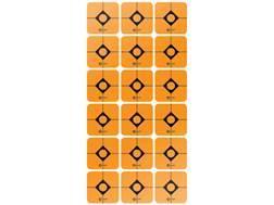 "Caldwell Target Squares 1"" Pack of 12 Sheets 18 Squares per Sheet Orange"