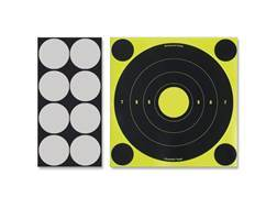 "Birchwood Casey Shoot-N-C Laser 8"" Bullseye Targets Package of 6"