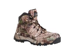 "Rocky Game Seeker 6"" Waterproof Uninsulated Hunting Boots Nylon Realtree Xtra Green Men's 10.5 D"
