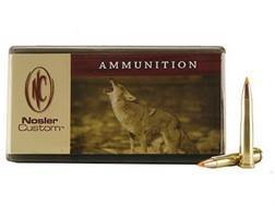 Nosler Custom Ammunition 22 Hornet 40 Grain Ballistic Tip Varmint Box of 50