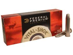 Federal Premium Vital-Shok Ammunition 45-70 Government 300 Grain Trophy Bonded Bear Claw Box of 20