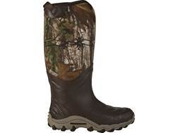 "Under Armour H.A.W. 16"" Waterproof Uninsulated Hunting Boots Rubber and Neoprene Realtree Xtra Camo Mens"