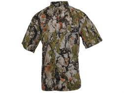 Natural Gear Men's Vented Lightweight Shirt Short Sleeve Polyester Natural Gear SC2 Camo Medium 38-40