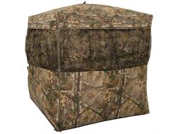 "Browning Mirage Ground Blind 72"" x 72"" x 66"" Polyester Realtree Xtra Camo with ALPS Firelight 240 Lumen Flashlight"