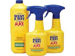 Hunter's Specialties Scent-A-Way MAX Scent Elimination Max Pro-Pak Combo Field Spray Liquid 56 oz