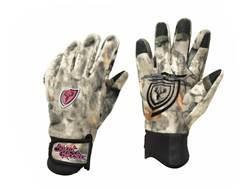 ScentBlocker Women's Sola Pro Grip Fleece Scent Control Gloves Polyester Mossy Oak Break-Up Infinity Camo XS/Small