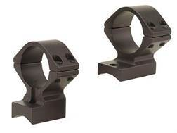 "Talley Lightweight 2-Piece Scope Mounts with Integral 1"" Rings 98 Mauser Large Ring Matte Low"