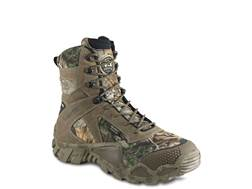 "Irish Setter VaprTrek 8"" Waterproof 400 Gram Insulated Hunting Boots Nylon and Leather Brown and ..."