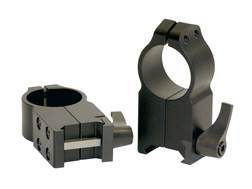 "Warne 1"" Maxima Quick-Detachable Picatinny-Style Rings AR-15 Flat Top Matte Ultra High Aluminum"