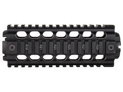 ERGO 2-Piece Z Rail Handguard Quad Rail AR-15 Carbine Length Aluminum Black