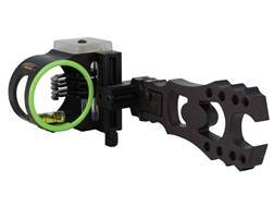 "Black Gold Vengeance Bow Sight .019"" Diameter Pins Right Hand Black"