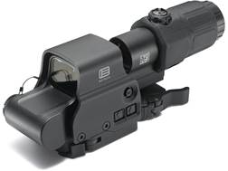 EOTech EXPS3-4 Holographic Hybrid Sight I 65 MOA Circle with (4) 1 MOA Dots Reticle with G33 3X Magn