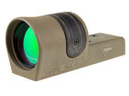 Trijicon RX30-C Reflex Sight 1x 42mm 6.5 MOA Dual-Illuminated Amber Dot Cerakote Flat Dark Earth
