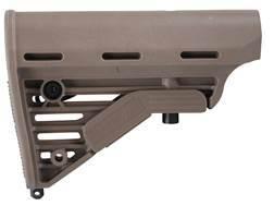 Blackhawk Knoxx Stock M4 Collapsible Mil-Spec Diameter AR-15, LR-308 Carbine Synthetic Desert Tan
