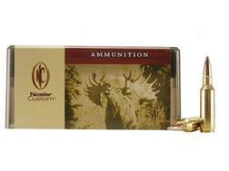 Nosler Custom Ammunition 300 Remington Short Action Ultra Magnum 180 Grain Partition Spitzer Box of 20