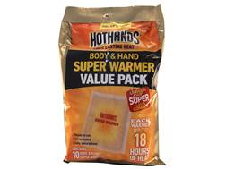 HotHands Super Body and Handwarmer Pack of 10