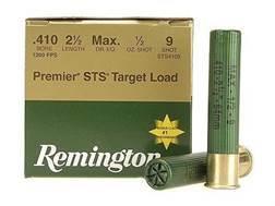 """Remington Premier STS Target Ammunition 410 Bore 2-1/2"""" 1/2 oz #9 Shot"""