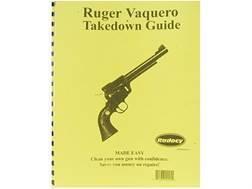 "Radocy Takedown Guide ""Ruger Vaquero"""