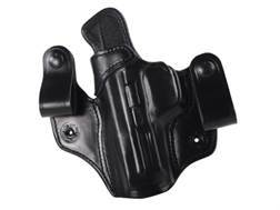 DeSantis Mad Max Tuckable Inside the Waistband Holster Left Hand S&W M&P 9, 40 Leather Black