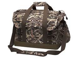 Drake Double Banded XL Floating Blind Bag with Swampsole Bottom Nylon Mossy Oak Shadow Grass Blades Camo