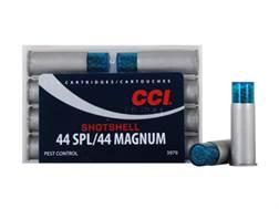 CCI Shotshell Ammunition 44 Special 140 Grains #9 Shot Box of 10