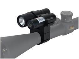 "BSA Red Laser Sight and Flashlight Kit with 1"" Rifle Scope Ring-Mount Matte"