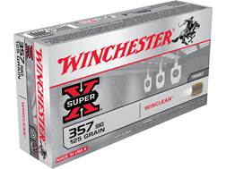 Winchester USA WinClean Ammunition 357 Sig 125 Grain Brass Enclosed Base Box of 50