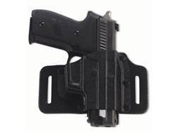 Galco Tac Slide Belt Holster Right Hand Smith & Wesson M&P and M&P Compact 9, 40 caliber Leather and Kydex Black