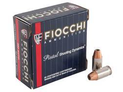 Fiocchi Extrema Ammunition 380 ACP 90 Grain Hornady XTP Jacketed Hollow Point Box of 25