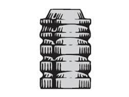 Saeco 3-Cavity Bullet Mold #323 32 Caliber (313 Diameter) 95 Grain Wadcutter