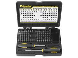 Wheeler Engineering 72-Piece Professional Gunsmithing Screwdriver Set