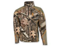 Browning Men's Hell's Canyon Midweight Base Layer 1/4 Zip Shirt Polyester
