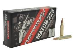 Norma USA Match Ammunition 223 Remington 77 Grain Sierra MatchKing Hollow Point Boat Tail