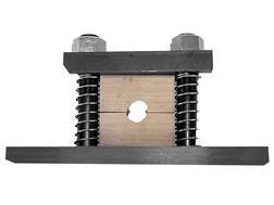 Wheeler Engineering Barrel Vise with 3 Wood Bushings
