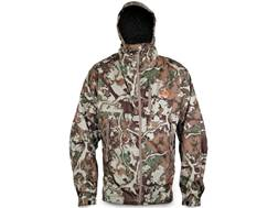 First Lite Men's Boundary Stormtight Waterproof Jacket Synthetic Blend Fusion Camo Large