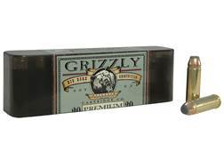 Grizzly Ammunition 500 S&W Magnum 450 Grain Hawk Bonded Core Jacketed Flat Point Box of 20